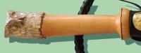 Нагайка с наборной ручкой, сова