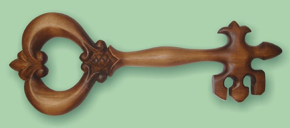 Деревянные ключи своими руками 72